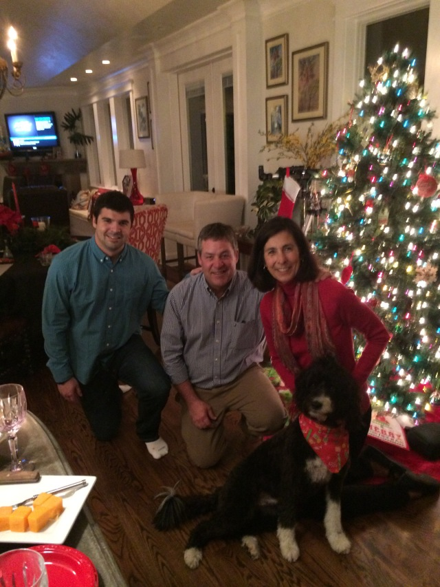 Christmas Day family pic- after the Egg Nog party.